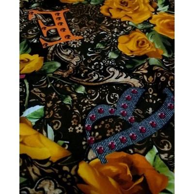 Цена 4500 руб 🌺 . НАТУРАЛЬНЫЕ ТКАНИ - Качество ПРЕМИУМ  Производство Италия💝 . Шелк 95 %, эластан 5 % ⏫⏫ Роскошный Шелк с эластаном D&G 💋 🔝🔝🔝На платья, блузки, пижамки, юбочки, сарафаны, туники 🌠 Изнанка атласная, лицевая креповая матовая, ширина 135 см 👌#шелкиталия #Шереметьево #Домодедово #шелковоеплатье #тканииталии💞шелк #ателье #люблюшить #шьюсама  #Пулково #платьенавыпускной #шьемназаказ #Москва #москвасити #тканиврозницу #магазинтканей #тканимосква #тканиопт #ткани #выкройки #бурда #tkani_italia_
