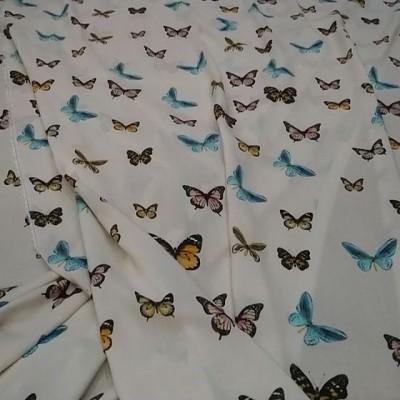 Нижний ШЕЛК Цена 4800 руб Верхняя ВИСКОЗА 2650 руб . У нас  НАТУРАЛЬНЫЕ ТКАНИ - Качество ПРЕМИУМ  Производство Италия💝 .  Шелк 95 %, эластан 5 % ⏫⏫ Очень нежный, летний и невероятно красивый принт бабочки, из коллекции BLUMARINE 💋  Изнанка атласная, лицевая креповая матовая, ширина 135 см 👌 . Вискоза 97 %, эластан 3 % ⏫⏫ Невероятно лёгкая, летящая, нежная вискоза, очень комфортная на жаркую погоду ткань 👍 . . 🔝🔝🔝На платья, рубашки, блузочки, пижамки, юбочки, сарафаны, туники 🔥 🔥 🔥 #шелкиталия #Шереметьево #Домодедово #шелковоеплатье #тканииталии💞шелк #ателье #люблюшить #шьюсама #платьенавечеринку #выпускной  #Пулково #платьенавыпускной #шьемназаказ #Москва #москвасити #тканиврозницу #магазинтканей #тканимосква #тканиопт #ткани #выкройки #бурда #tkani_italia_