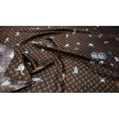У нас  НАТУРАЛЬНЫЕ ТКАНИ - Качество ПРЕМИУМ  Производство Италия💝 . ЦЕНА 5500 руб .  НАТУРАЛЬНЫЙ Шелк 100 %⏫⏫ Невероятно красивый, подписной Шелк-Твил из коллекции Louis Vuitton ✨🔝🔝🔝 ОРИГИНАЛЬНЫЙ СТОК 🔼 На платья, пижамки, юбочки, сарафаны, кимоно🌠  ширина 150 см 👌#шелкиталия #Шереметьево #Домодедово #шелковоеплатье #тканииталии💞шелк #ателье #люблюшить #шьюсама #платьенавечеринку #выпускной  #Пулково #платьенавыпускной #шьемназаказ #Москва #москвасити #тканиврозницу #магазинтканей #тканимосква #тканиопт #ткани #выкройки #бурда #tkani_italia_