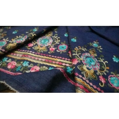 НОВОЕ ПОСТУПЛЕНИЕ 🔝 🔝 🔝 . У нас  НАТУРАЛЬНЫЕ ТКАНИ - Качество ПРЕМИУМ  Производство Италия💝 . Цена 3200 руб 🌺 .  Хлопок 100 %⏫⏫ Плательно-рубашечная легкая Джинса с роскошной вышивкой из коллекции Valentino 🌷 💟 На легкие платья, рубашки, юбочки, сарафчики🌠 Джинса очень приятная, мягкая, легкая, не просвечивает👌ширина 150 см, вышивка идёт бордюром вдоль одной кромки, с одной стороны #хлопокиталия #Шереметьево #Домодедово #шелковоеплатье #тканииталии💞плательнорубашечные #брендовыеткани #ателье #пошиводежды #люблюшить #шьюсама #платьенавечеринку #выпускной #люблюшить #Пулково #платьенавыпускной #шьемназаказ #Москва #москвасити #питерялюблютебя #москвалюбимая #тканииталии💞хлопок #ткани #магазинтканей #выкройки #бурда #tkani_italia_ #гум #цум #девочкитакиедевочки