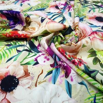 🔝🔝НОВЫЕ КОЛЛЕКЦИИ 🔝🔝 . У нас  НАТУРАЛЬНЫЕ ТКАНИ - Качество ПРЕМИУМ  Производство Италия💝 . ЦЕНА  5500 руб 🌺 .  НАТУРАЛЬНЫЙ Шелк 95%, Эластан 5 % ⏫⏫ Невероятно красивый Шелк-стрейч из коллекции Gucci 🌿 🔝🔝🔝На платья, блузки, пижамки, юбочки, сарафаны, туники 🌠 ширина 135 см, креповый матовый с двух сторон 👌#шелкиталия #Шереметьево #Домодедово #шелковоеплатье #тканииталии💞шелк #брендовыеткани #ателье #пошиводежды #люблюшить #шьюсама #платьенавечеринку #выпускной #люблюшить #Пулково #платьенавыпускной #шьемназаказ #Москва #москвасити #тканиврозницу #магазинтканей #тканимосква #фитнес #tkani_italia_ #гум #цум #девочкитакиедевочки